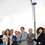Foto inaugurazione impianto minieolico a Porto Corsini 28 giu 13 n.1